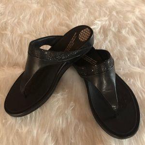 2f7d9e923e8c Fit Flop BANDA Tan Leather Sandals.  17  120. Women s Fitflops Banda Black  Size 8 NWB